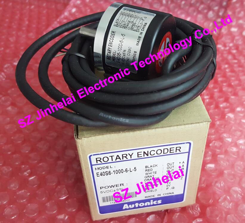 100% Authentic original Autonics ENCODER E40S6-1000-6-L-5 100% authentic original e40s6 2500 6 l 5 autonics encoder