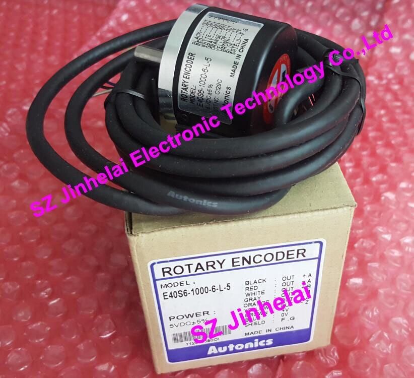 100% authentique original Autonics encodeur E40S6-1000-6-L-5100% authentique original Autonics encodeur E40S6-1000-6-L-5