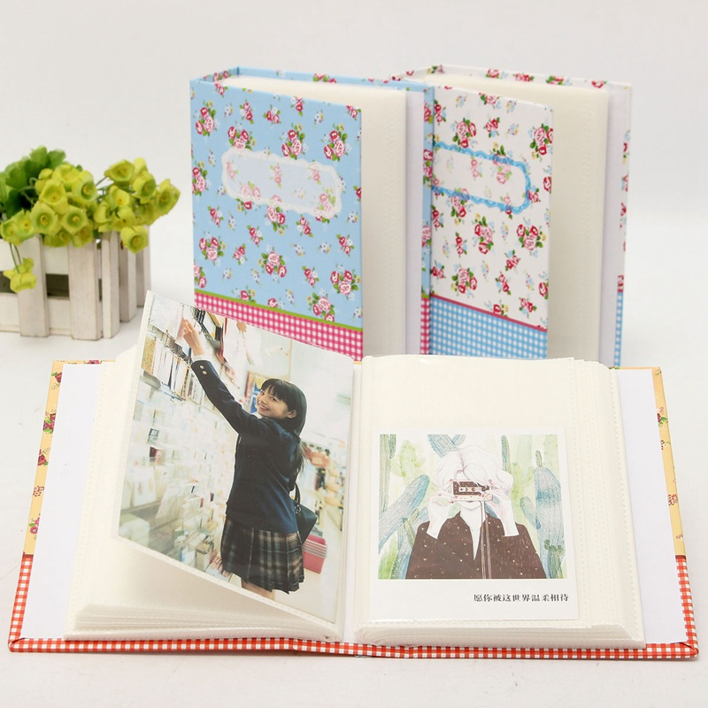 Types Of Book Cover Paper : Pcs inch vintage floral color cover photo album book