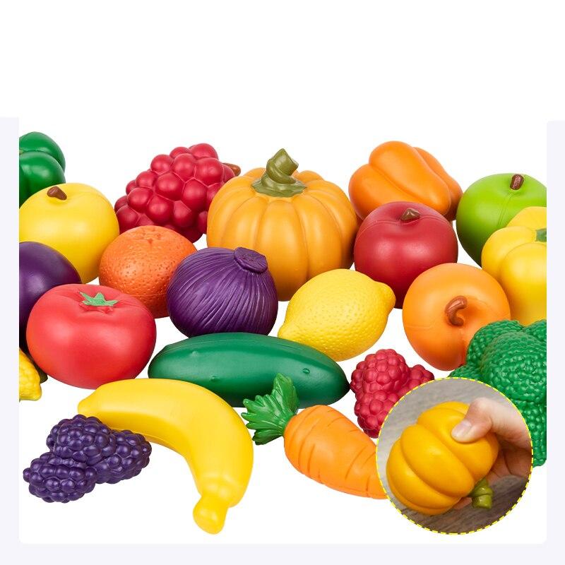 Домашняя игрушка, детский сад, растительный фрукт, модель, моделирование, детское питание, познавательное, раннее образование, головоломка, пластиковые игрушки - 4
