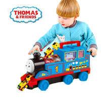 Thomas en Vrienden Diecasts Speelgoed Voertuigen kinderen model container truck simulatie auto trein speelgoed legering magnetische jongen speelgoed gift