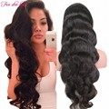2016 New arrival Body Wave Full Lace wig with baby hair Peruvian 150 density Glueless Silk Top Lace Front wigs for black women