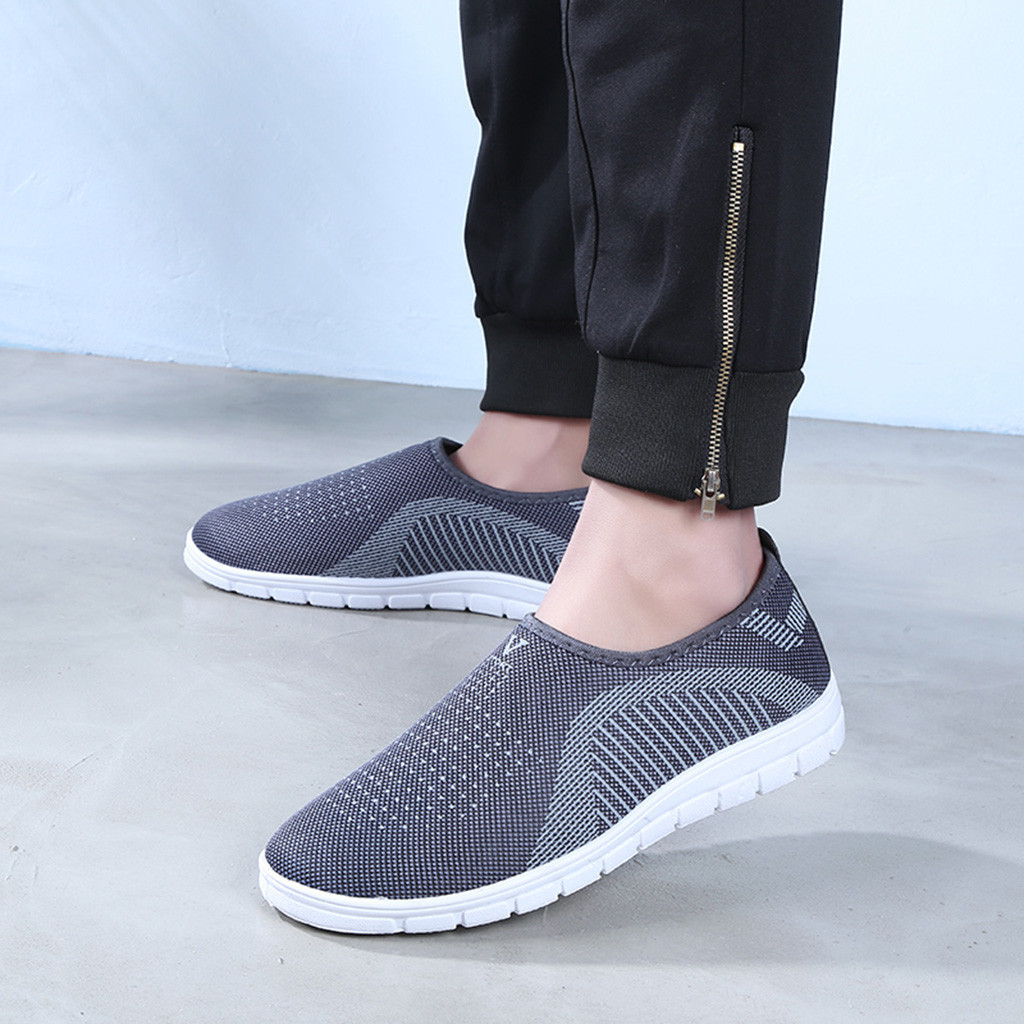 New Stylish Shoes For Man Casual Slip-on Sport Man Shoes Sneaker Comfortable Loafers Shoes Escarpins Femme 2019