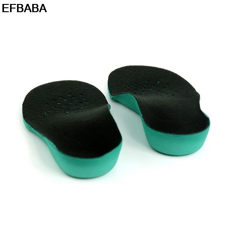 EFBABA Orthopedic Insoles Flat Foot Arch Supports Sweat Absorbent Breathable Children Shoe Insole Orthopedic Shoes Accessories expfoot orthotic arch support shoe pad orthopedic insoles pu insoles for shoes breathable foot pads massage sport insole 045