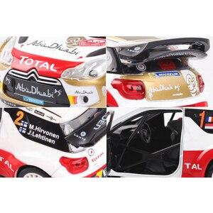 Image 5 - 1:32 Schaal Simulatie DS3 Legering Model Auto Diecast Voertuig Speelgoed Met Geluid Licht Metalen Auto Rally Racing Speelgoed Auto Voor kid Geschenken