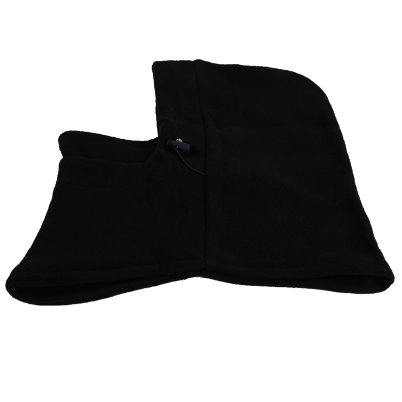 Winter Warm Fleece Balaclava Hat Outdoor Sprots Cycling Ski Windproof Wigs Caps Face Neck Mask ciclismo Winter Face Mask Black