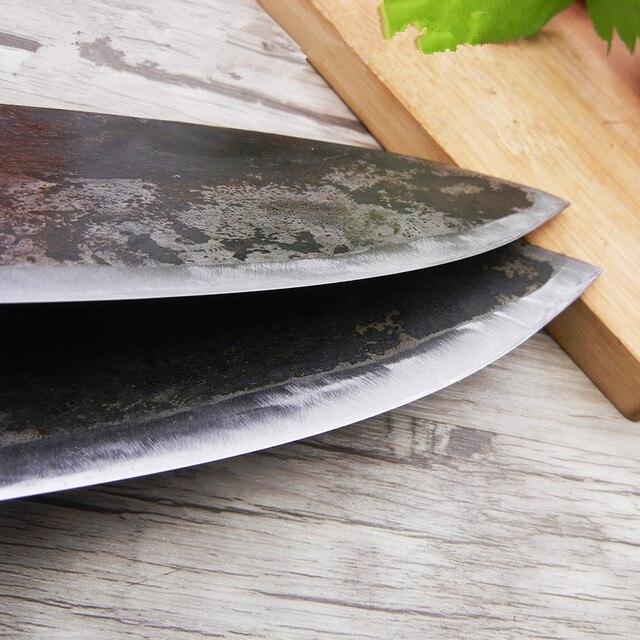 CZQ Handgemachte Clip Stahl Runde Bauch Töten Fisch Messer Hotel Meeresfrüchte Schneiden Messer Outdoor Filetieren Bauernhof Fisch Schlachtung Messer