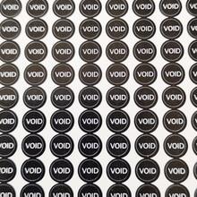 5000 шт 0,5 см диаметр резьбовое отверстие уплотнения гарантия уплотнительная этикетка наклейка пустота если пломба сломана, пункт № V27