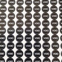 5000pcs 0.5cm diameter Screw hole seals Warranty sealing label sticker void if seal broken, Item No. V27