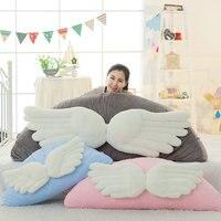 1pc 90cm/110cm Kawaii Wing Shape Plush Pillow Stuffed Cartoon Bed Pillows Back Cushion Cute Kids Plush Toys Doll Birthday Gift