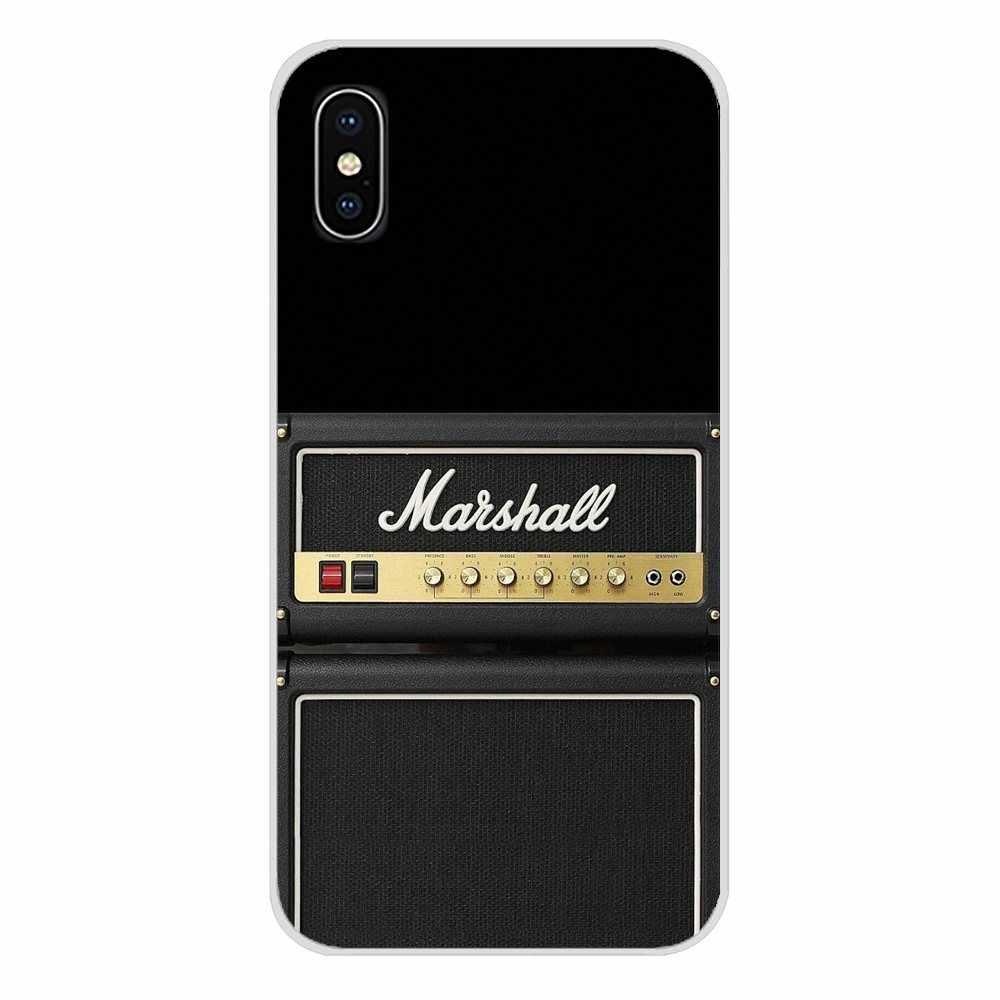 สำหรับ Motorola Moto X4 E4 E5 G5 G5S G6 Z Z2 Z3 G3 G2 C Play Plus แฟชั่นกีตาร์ Amp marshall อุปกรณ์เสริมโทรศัพท์กรณีครอบคลุม