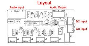 Image 5 - Filtro de paso bajo amplificadores de Audio tono Placa de controlador de potencia Subwoofer diseño de circuito de Control de Audio para
