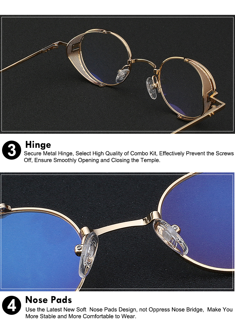 Steampunk Glasses Clear