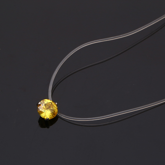 Dazzling stone necklace