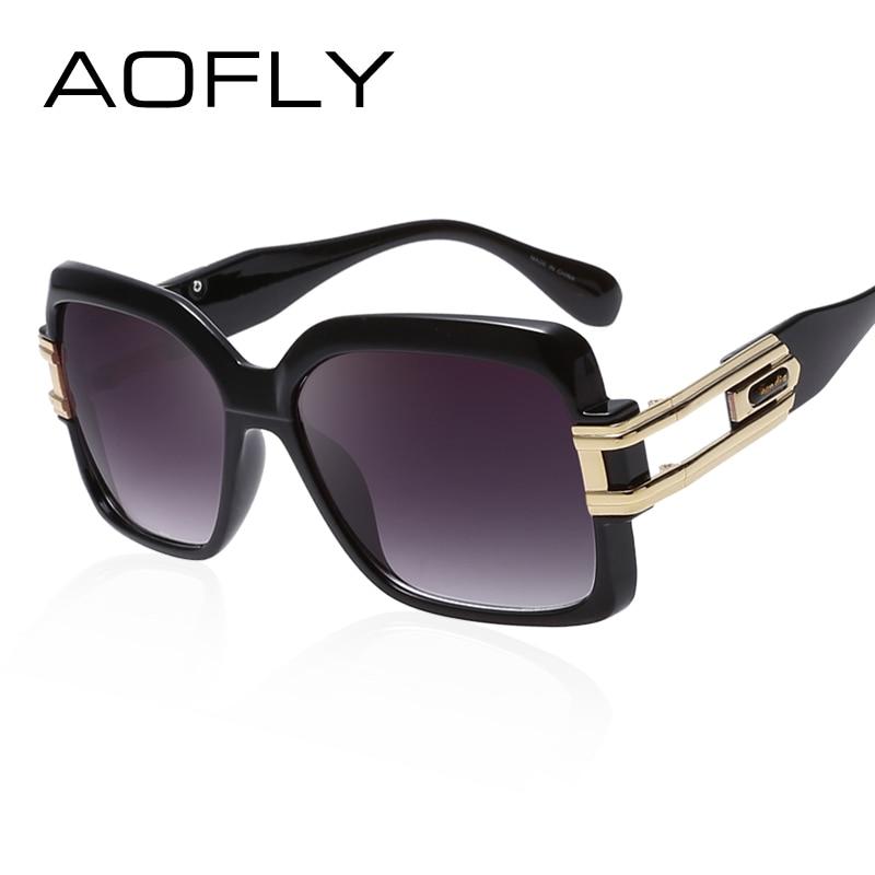 AOFLY Fashion Women Square Sunglasses Brand Designer Sun ...