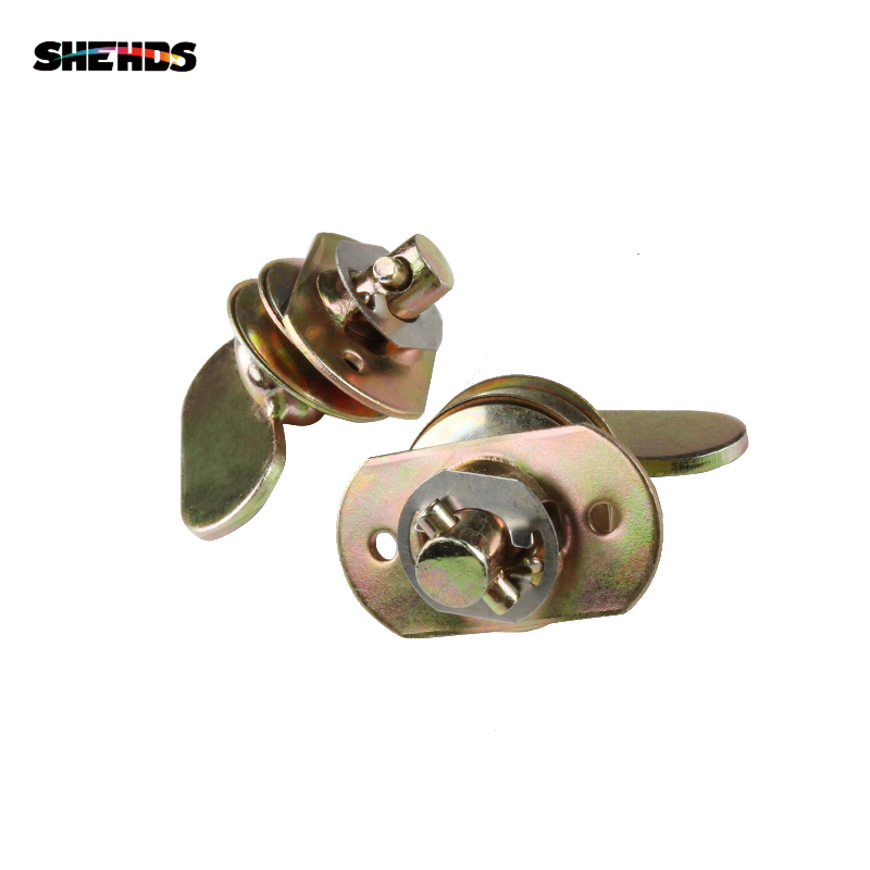 SHEHDS 2 Sets Metal Quick Lock For LED Moving Head Light Professional Stage Led Stage Light Truss Dj Club Light Hanging Hook