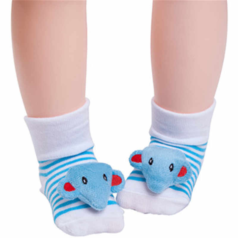 Calcetines de bebé de Lawadka calcetines de bebé de dibujos animados de algodón recién nacido invierno niñas niños antideslizantes calcetines Zapatos botas niños Ropa Accesorios