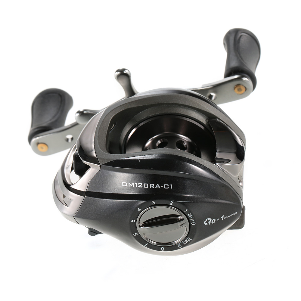 10+1BB 6.3:1 Left/Right Hand Baitcasting Fishing Reel Bait Casting Baitcast Reel Water Drop Fishing Wheel Fishing Tackle