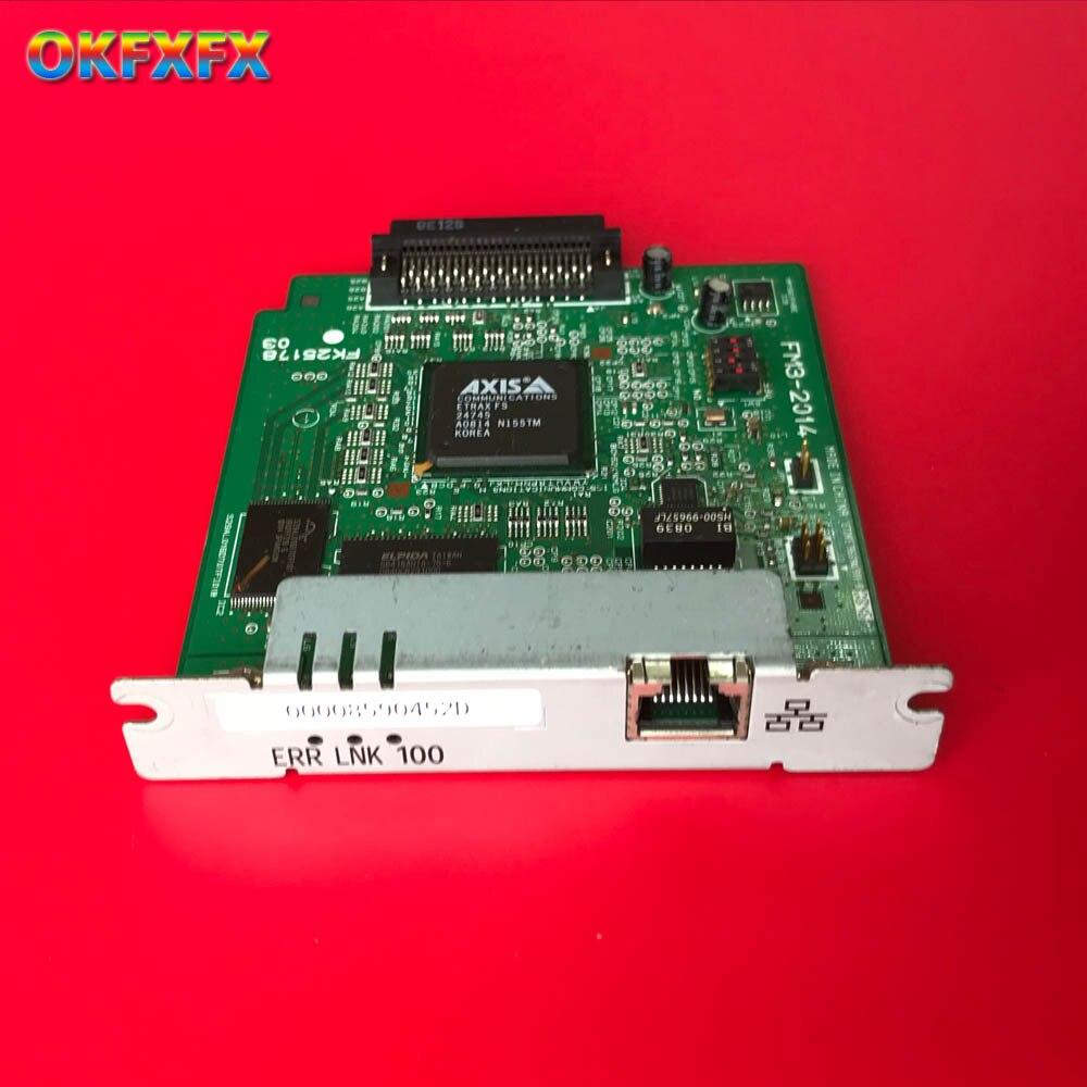 FM3-2014-000 FM3-2014 Jetdirect LBP3500 LBP3300 LBP3310 LBP5000 LBP5100 NB-C2 Carte Réseau Serveur D'impression imprimante carte Réseau