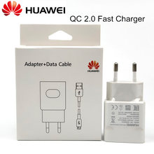 Original Huawei Fast Charger P9 Lite p10 lite p8 nova 2 2i Honor 8 9 MATE 8 y6 2017 phone QC 2.0 QUICK CHARGE adapter &Usb CABLE