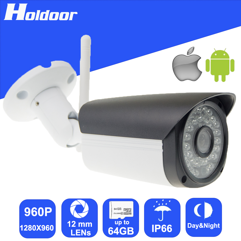 Wireless 960P 12mm Lens Security Surveillance P2P Outdoor Camera IR Cut Night Vision Motion Detection Alarm Email Alert Onvif cctv ip camera wifi 960p hd 3 6mm lens video surveillance email alert onvif p2p waterproof outdoor motion detect alarm ir cut