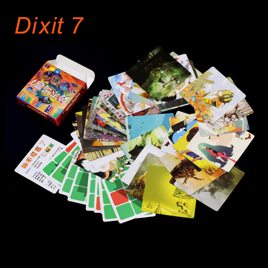 dixit 7 version dixit board games indoor playing cards game for kid home party card game