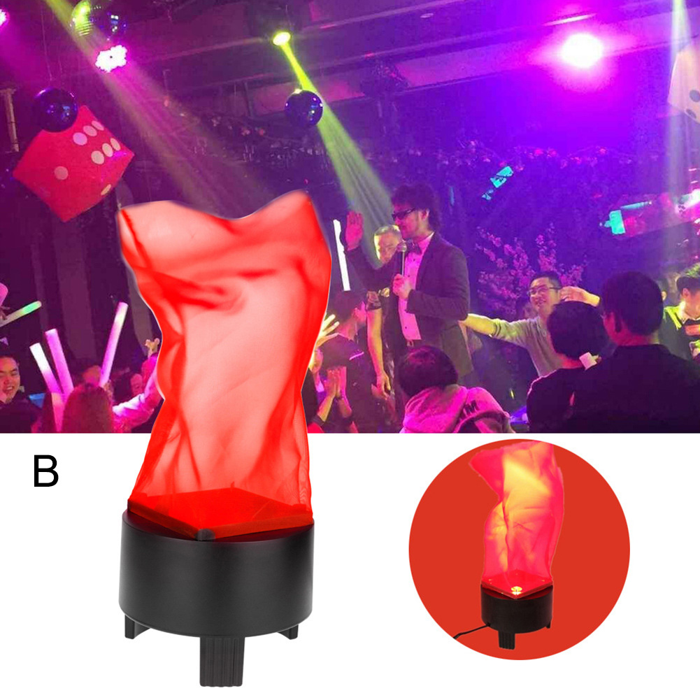 LED Fake Flame Lamp Fire Effect Home Decoration Torch Light for Halloween Prop Party US/EU Plug ALI88 цены