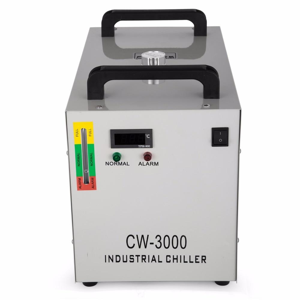 CW3000 промышленные охладитель воды для 60 Вт/80 Вт шпинделя охлаждения сварки