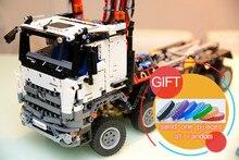 20005 2793 шт. техника серии 42023 arocs Модель Строительный блок Совместимо с игрушки образовательных подарок 05007 Игрушки Лепин