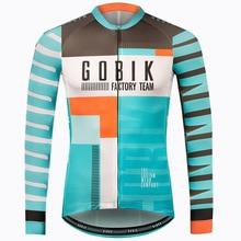 2019 Men s Pro Team Cycling Jersey Shirts Long Sleeve Autumn Winter MTB  Mountain Bike Cycle 871b2eb9c