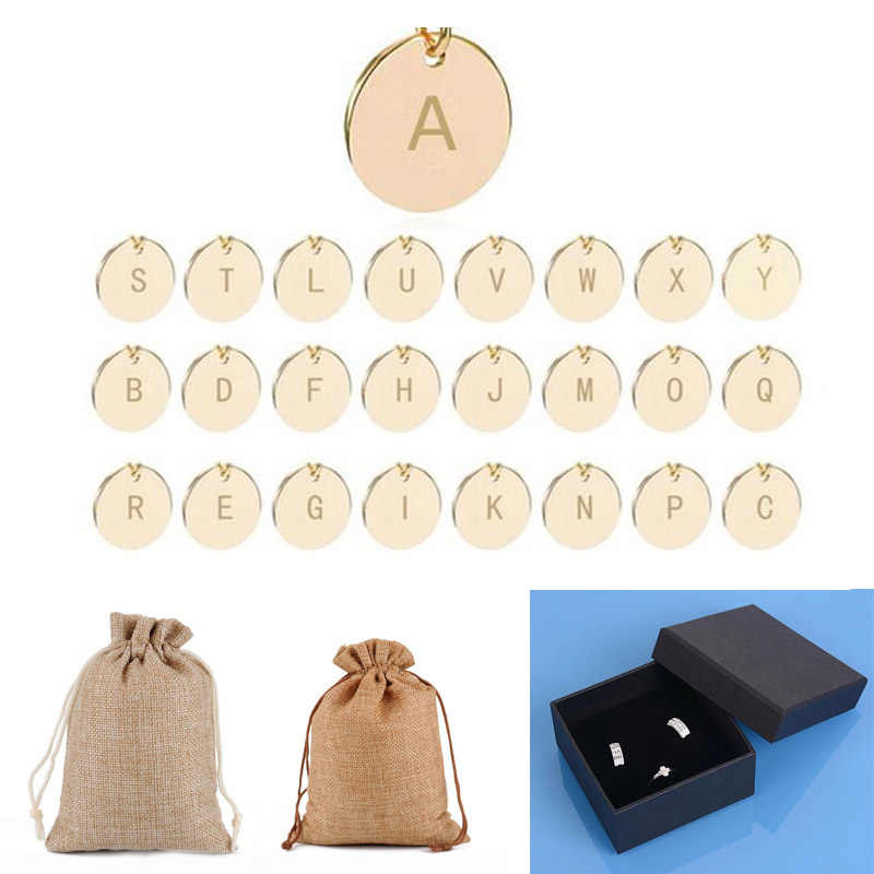 Paquete de terciopelo negro SMJEL para la joyería bolsa de Yute Natural Cajas de Regalo embalaje de las joyas como regalos a amigo Dropshipping