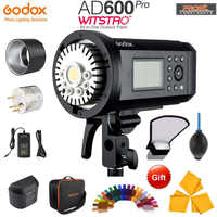 Upgrade Godox AD600Pro 600W Outdoor Flash Li-on Battery TTL HSS Built-in 2.4G Wireless X System with Xpro-C/N/S/F/O Trigger