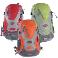 20L Ultralight Shoulders Backpack Unisex Mountaineering Bag for Outdoor Camping Hiking Traveling (Red)
