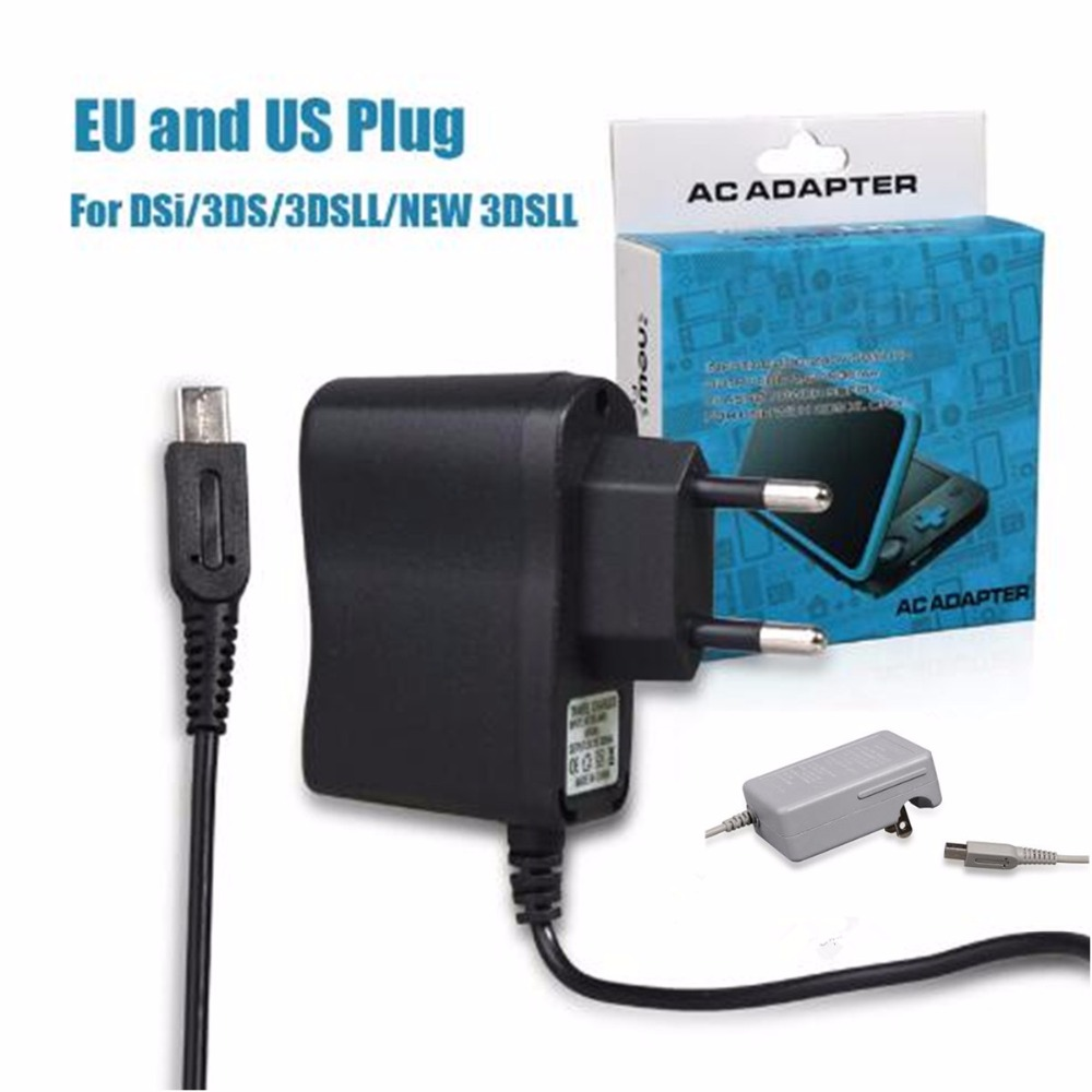 Game Accessories New Travel Charger AC Adapter For New 2DS XL Power Charging Charger For Nintend New 2DS XL LL EU US PlugGame Accessories New Travel Charger AC Adapter For New 2DS XL Power Charging Charger For Nintend New 2DS XL LL EU US Plug