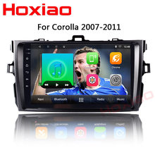 Android Car dvd player for Toyota corolla 2007 2008 2009 2010 2011 gps navigation 2 din radio multimedia player(China)