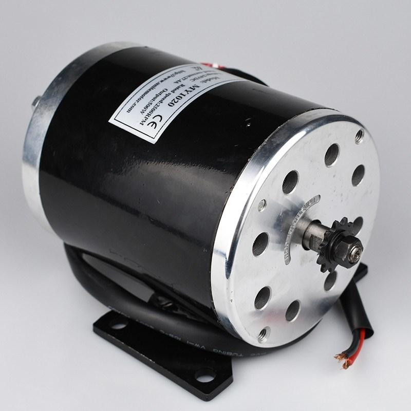 500 watt 24 v 36 v 48VDC Elektrische Roller Brushed Speed Motor 2500 rpm 1.9N.m Elektrische Fahrrad Dreirad Motorrad Motor teile MY1020 - 4