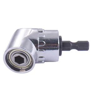 Screwdriver Adapter Socket-Holder Magnetic-Bit Angle-Extension Hex Shank 105-Degree Adjustable