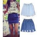 OOPS Women Denim Skirts 2016 Fashion Street High Waist Female Plus Size S-XL Jeans Saias Pencil Bodycon Skirts Womens 141106