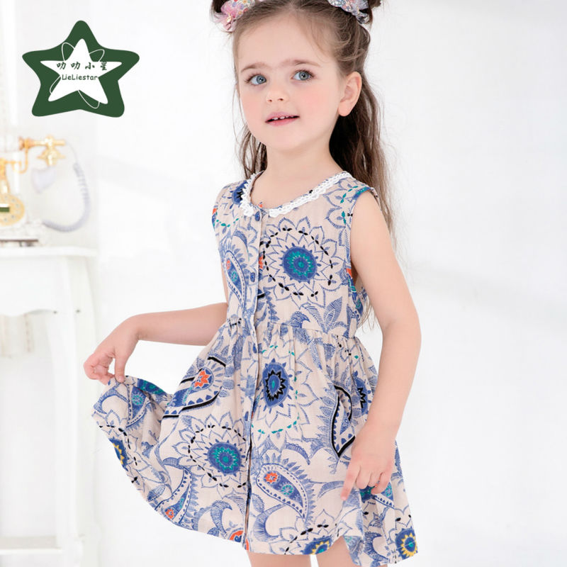 Baby Girls Dress Children Summer Costume 2017 New Style Infant Princess Dresses Fashion Kids Fancy Clothes Girl Party Clothing цена и фото