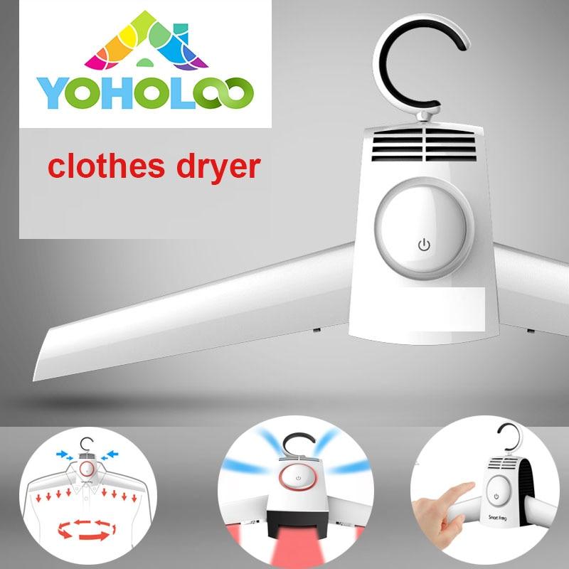 Quaity Portable foldable clothes dryer Timer Rapid drying Rack Hanger Garment Coat laundry Shoes Dryer drying machine travel все цены