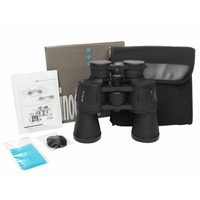 High Times 20X50 HD All Optical Large Eyepiece Blue Film Binoculars Telescope Handheld Outdoor Telescope For Tourism