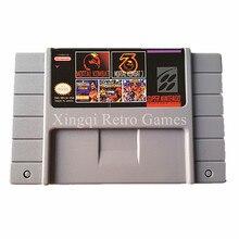 Super Nintendo SFC/SNES MS18 5 в 1 Видеоигры Картридж Консоли Карта США Версия Английского Языка Коллекция