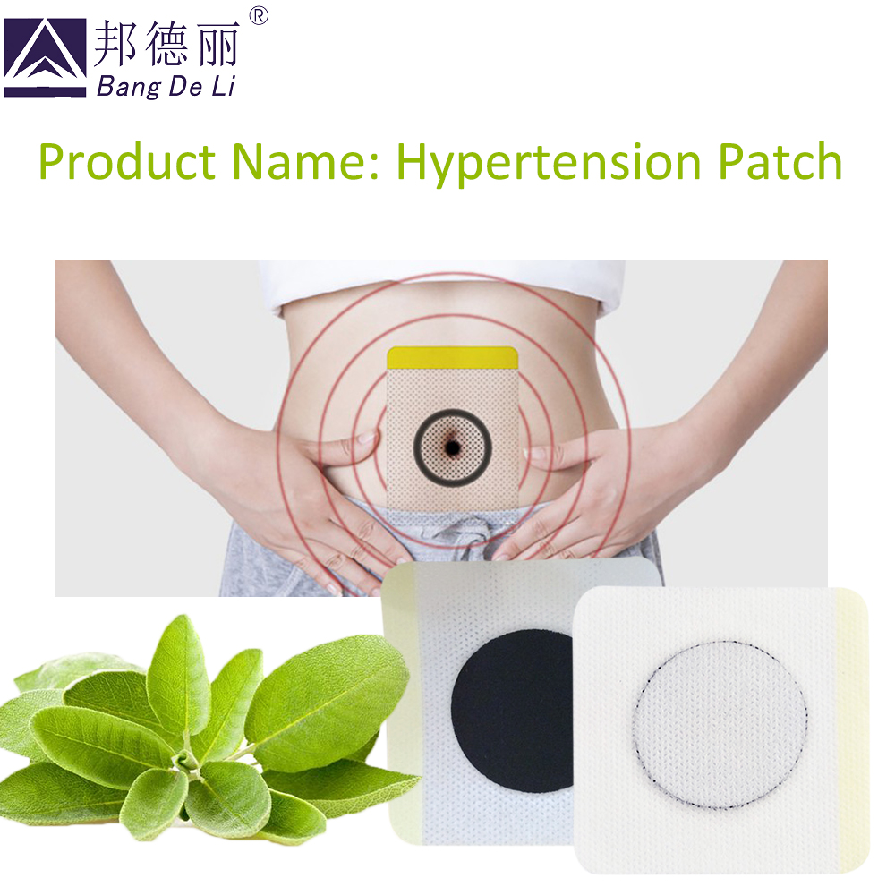 Image 4 - 20Pcs Medical Hypertension Patch Chinese medicine Plaster Reduce control Blood Pressure headache Treatment clean blood vesselhypertension patchherbal plasterherbal patches -