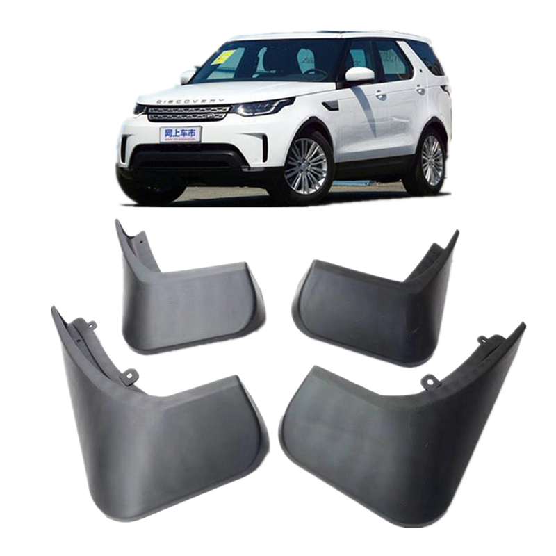 4pcs car styling Accessories Car Mudguard Fender Mud Flap For Range Rover Land Rover Discovery 5