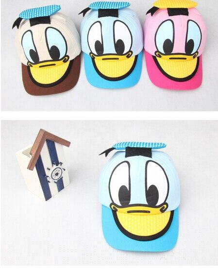 Kwaii Donald Duck Baseball Cap Petten Kidsfor Boys And Girls Snapback Caps Hip Hop Flat Summer