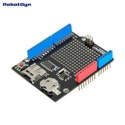 Данные щит регистратора совместимы для Arduino, MicroSD-card + RTC (в сборе) с батареей