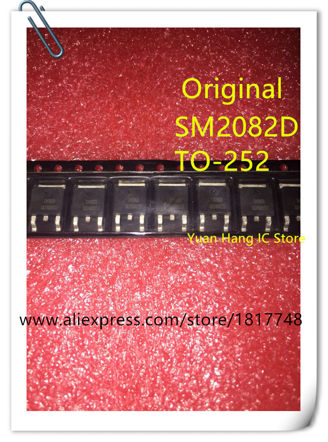 10pcs/lot SM2082D SM2082 TO-252 Linear constant current drive aod446 d446 to 252