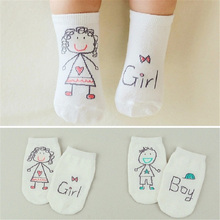 Adorable cotton baby socks