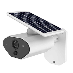 Image 1 - 2.0MP Solar Powered IP Camera 1080P Outdoor Waterproof CCTV Security WiFi Camera With Rechargeable Battery Video Surveillance