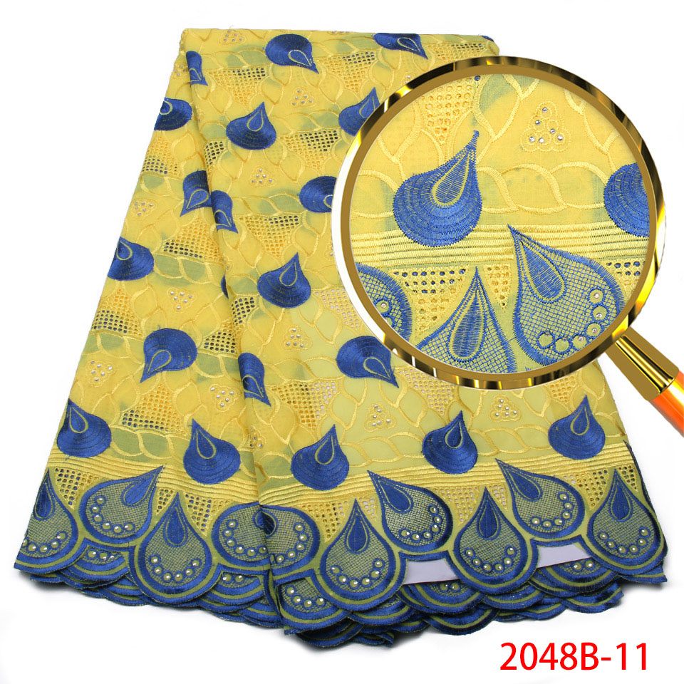 African Swiss Voile Lace In Switzerland High Quality Swiss Cotton Lace Fabric for Nigerian african women